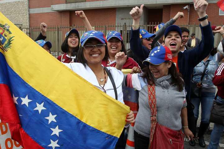 Venezuela a Colombia