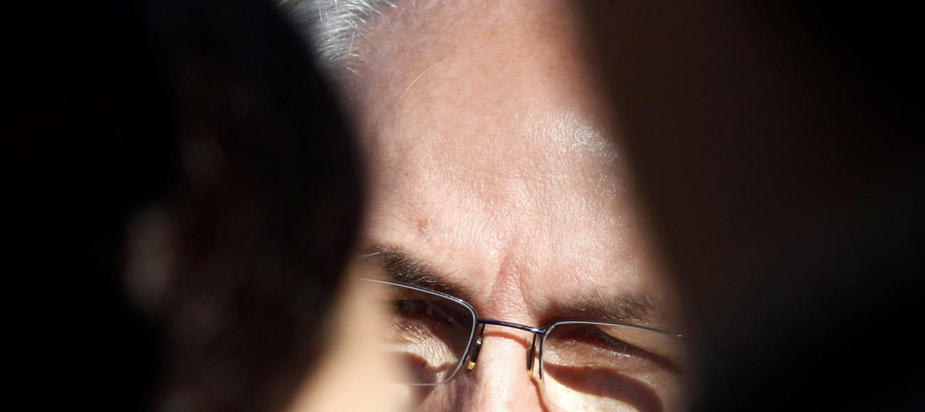 El alcalde metropolitano de Caracas y opositor venezolano, Antonio Ledezma, a su llegada a Madrid. EFE/Javier López