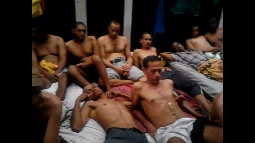 Colombian detainees in La Yaguara (Caracas) suffer from depression and malnutrition. Photo: Sergio Aranguren