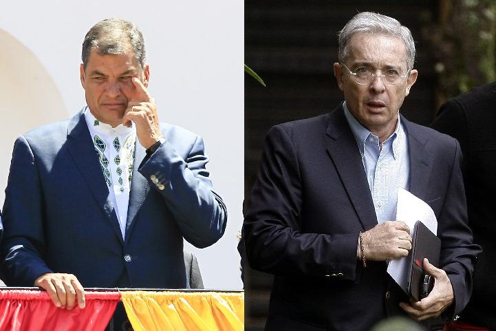 Uribe, Correa