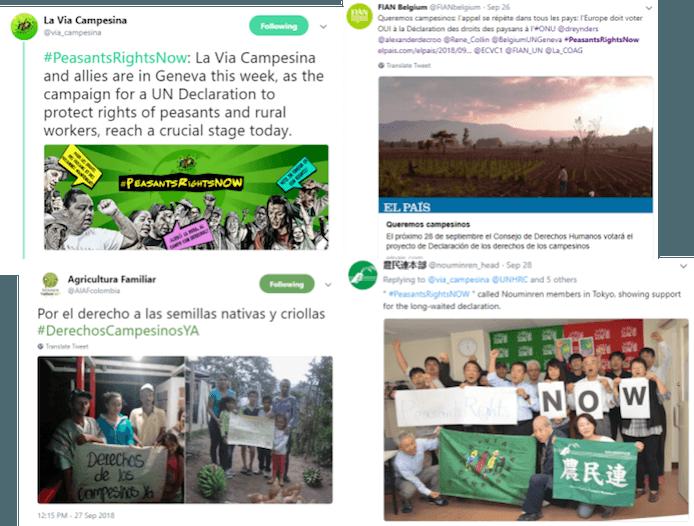 #DerechosCampesinosYA
