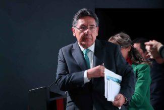Néstor Humberto Martínez, Odebrecht, Fiscalía