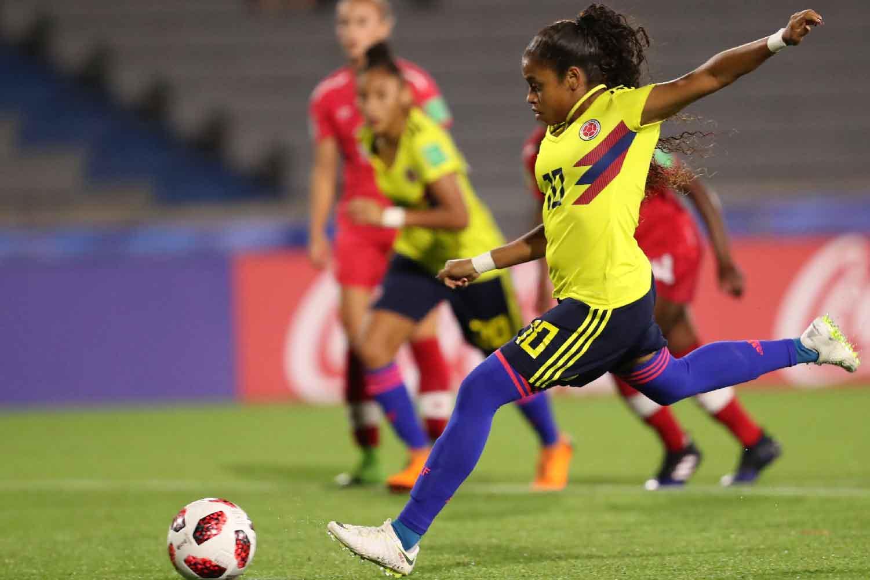 Selección Femenina, fútbol, Colombia