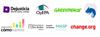 organizaciones firmas deforestación