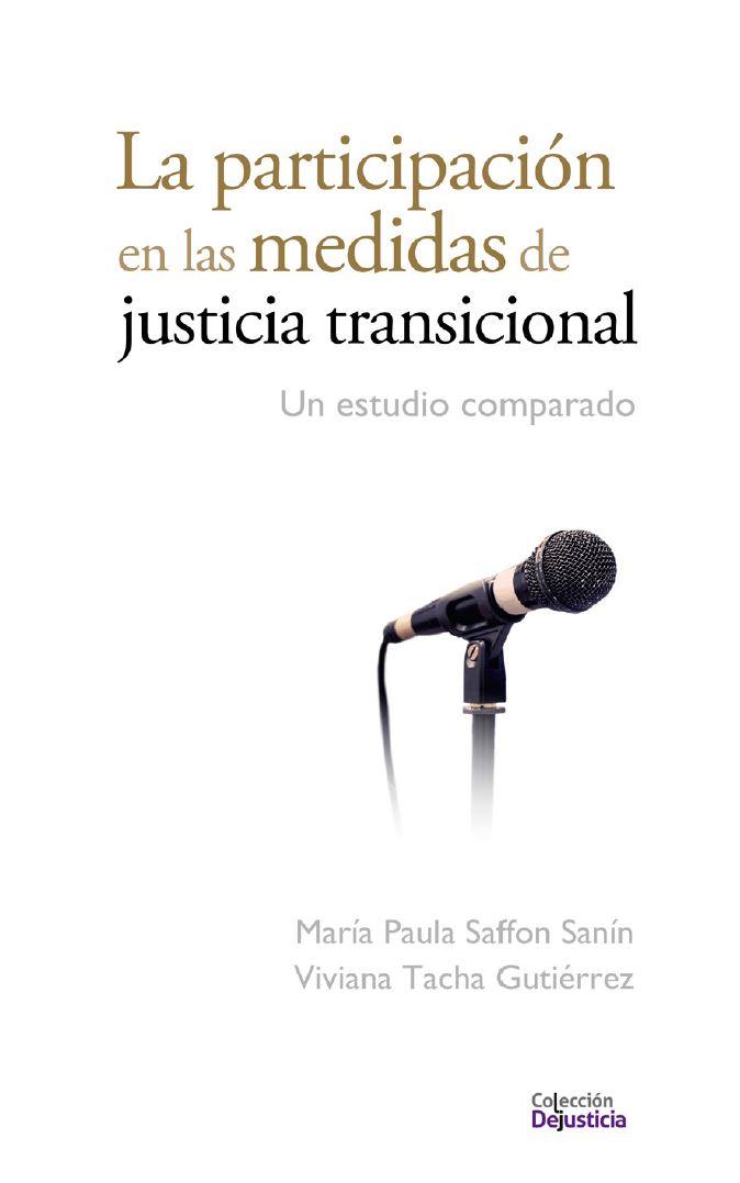 Participación justicia transicional