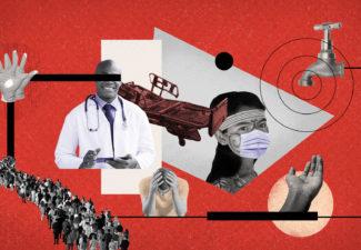 Existen departamentos donde el sistema de salud no daría abasto en caso de presentarse un alto número de pacientes con graves complicaciones a causa del nuevo coronavirus.