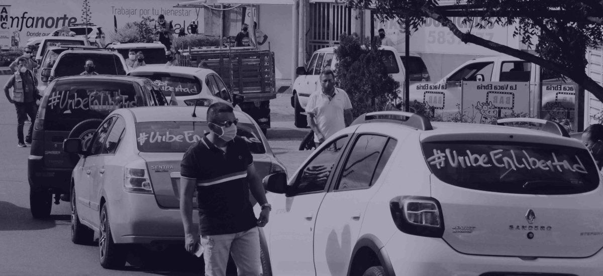 Detención de Uribe