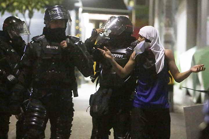 Represión Policía