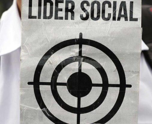 Cifras líderes sociales