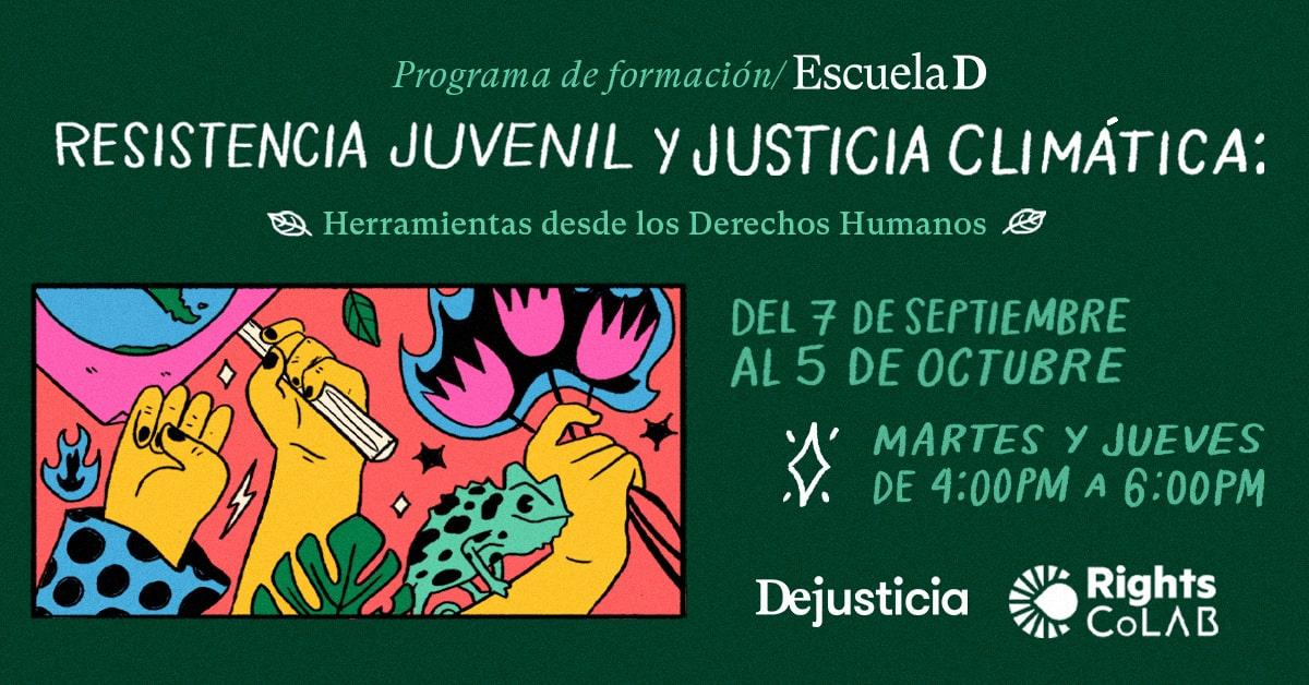 Resistencia juvenil y justicia climática