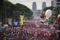 Manifestación en contra de Nicolás Maduro Foto_ Eneas De Troya