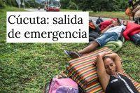 Diez periodistas venezolanos viajaron desde Caracas para reportear la crisis migratoria en la frontera con Colombia.